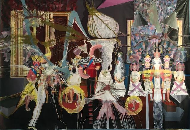, 'Madame Tussauds Cellar,' 2015-2016, Gallery Isabelle van den Eynde