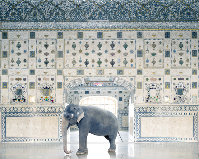 , 'Temple Servant, Amber Fort, Jaipur,' 2014, Jackson Fine Art