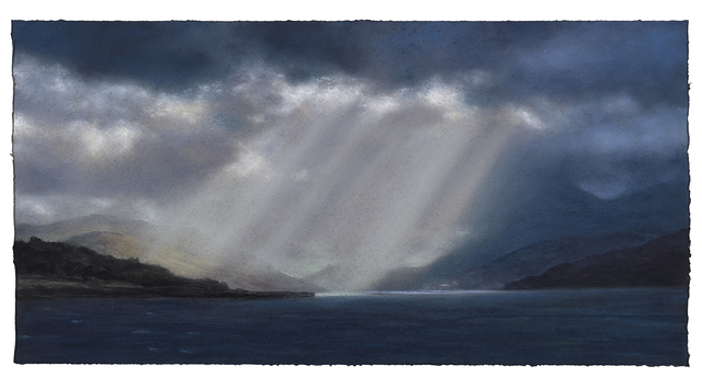 , 'Alight, Crepuscular Rays series no 18,' 2019, The Scottish Gallery