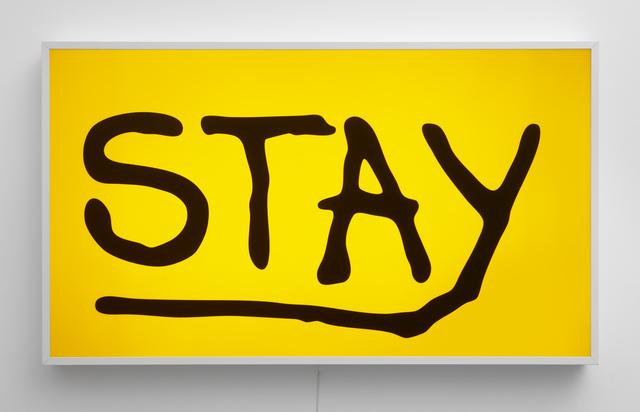 , 'Stay,' 2017, PRAZ-DELAVALLADE
