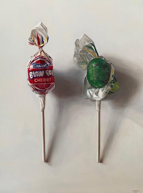 , 'Two Blow Pops,' 2018, George Billis Gallery