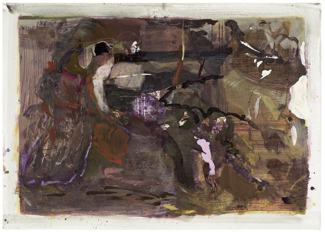 , 'Steine legen Äpfel lesen,' 2018, Setareh Gallery
