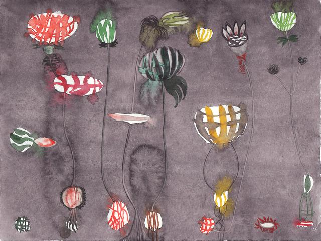 , 'Botanik (1),' 2012, DAS ESSZIMMER