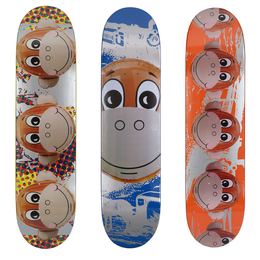 Monkey Train Skate Deck