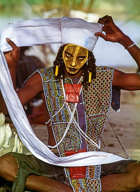 , 'Wodaabe Male Charm Dancer, Niger,' 1992, THK Gallery