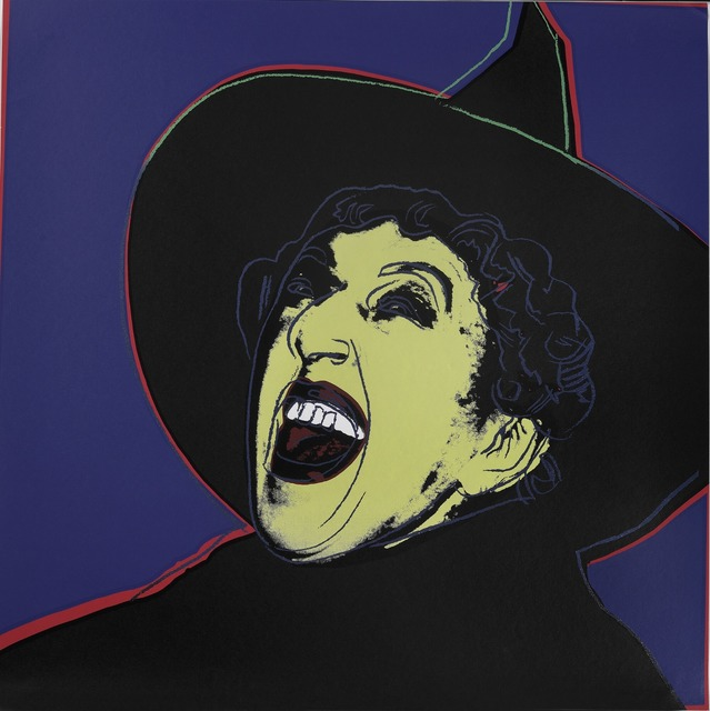 Andy Warhol, 'The Witch from the series Myths', 1981, Bruun Rasmussen