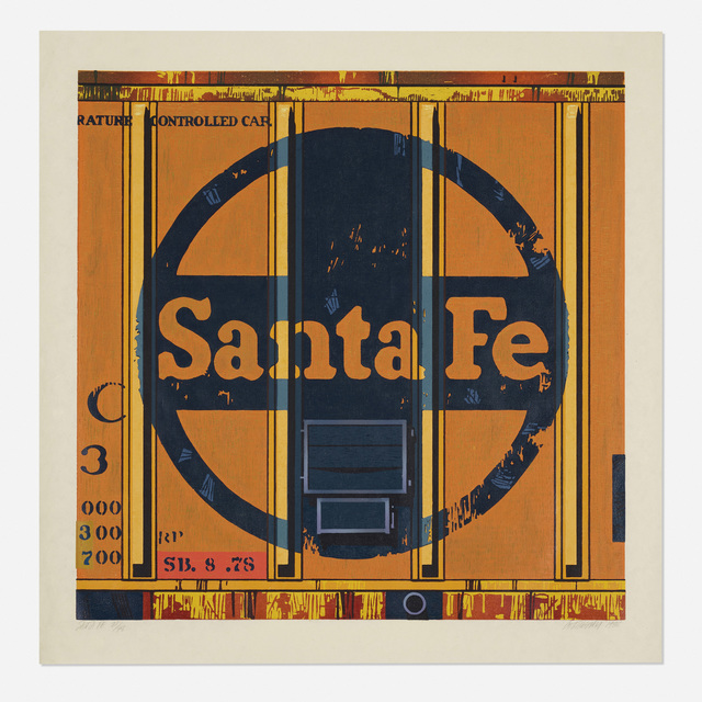 Robert Cottingham, 'Santa Fe', 1988, Wright