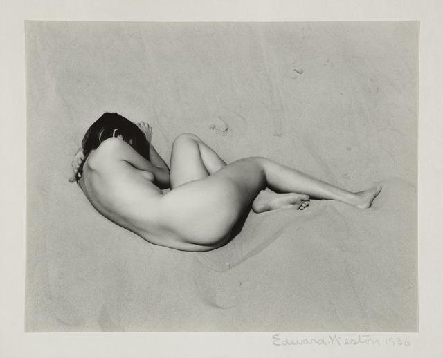 Edward Weston, 'Nude on Sand', 1936, Sotheby's