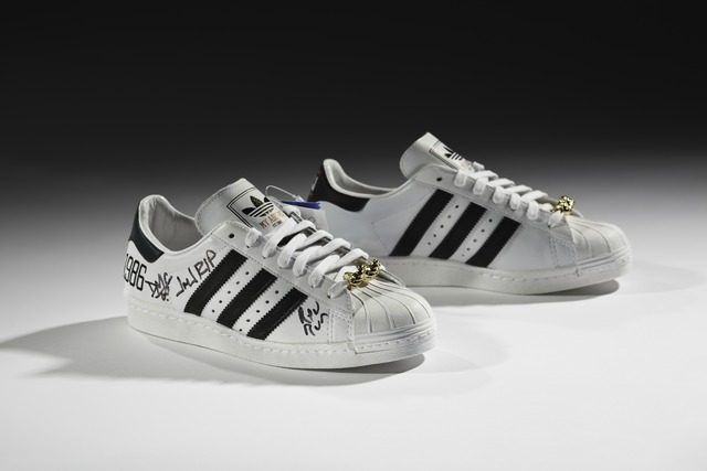, 'adidas x Run–DMC, 25th Anniversary Superstar,' 2011, American Federation of Arts