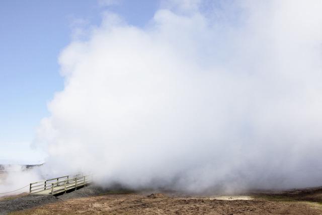 , 'Cloud, The Reykjanes Geothermal Power Station,' 2011, Robert Mann Gallery