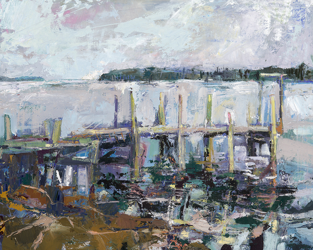, 'The Old Spurling Dock - Great Cranberry Island,' , Greenhut Galleries