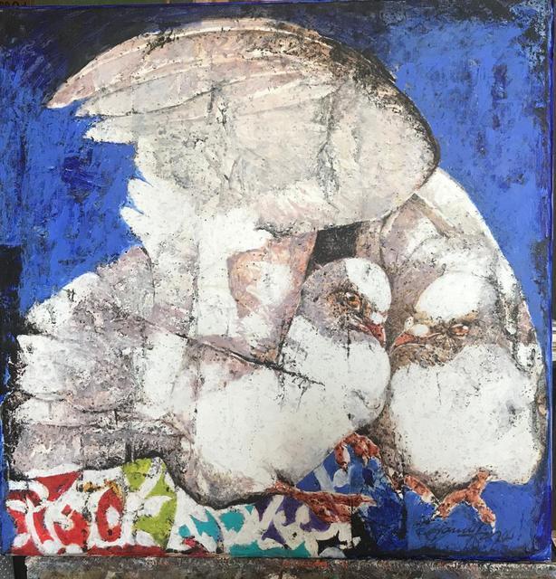 Jamil Naqsh, 'Untitled ', 2010 -2020, Painting, Oil on canvas, Eye For Art Houston