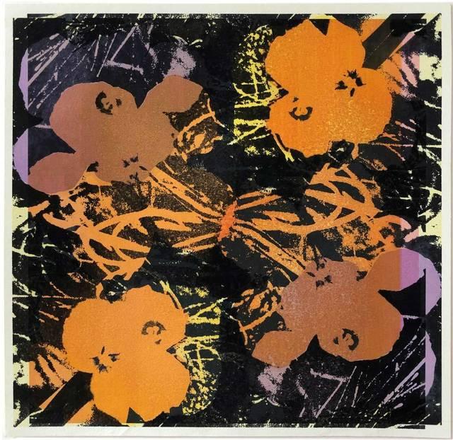 Andy Warhol, 'Flowers', 1986, Graeme Jackson