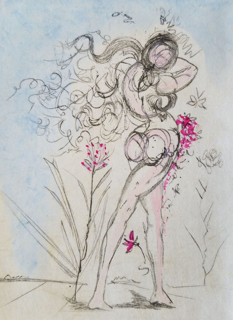 , 'Petits Nus Apollinaire 3,' 1967, ACA Galleries