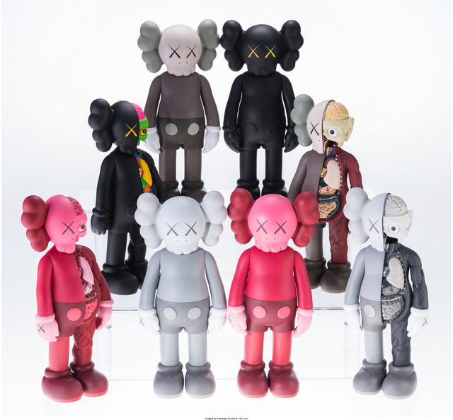 KAWS, 'Companions (Open Edition) (Set of 8)', 2016, Heritage Auctions