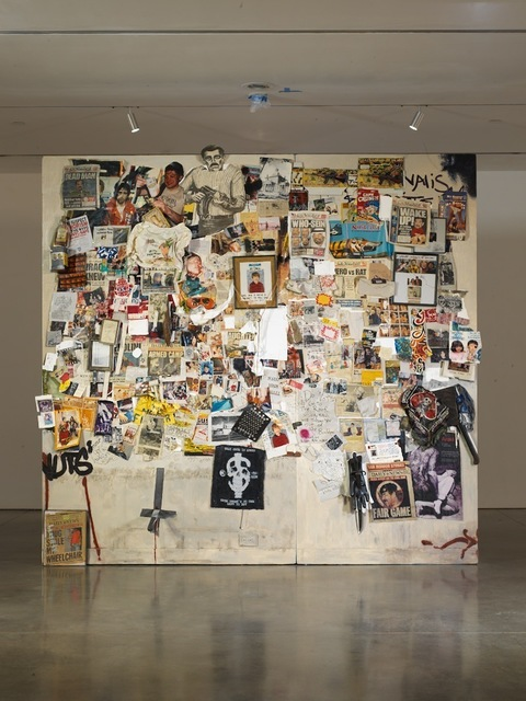 , 'Secrets and Cymbals, Smoke and Scissors (My Friend Dash's Wall in the Future),' 2004-06, Brant Foundation
