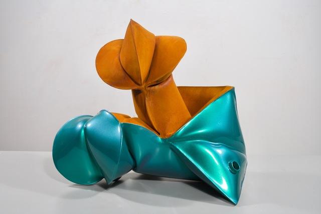 , 'Stinkin' Lincoln Green,' 2018, Galerie Richard