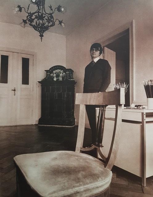 """Reiner Schwarz, '""""Reiner Schwarz"""" (II)', 1973, Cerbera Gallery"""