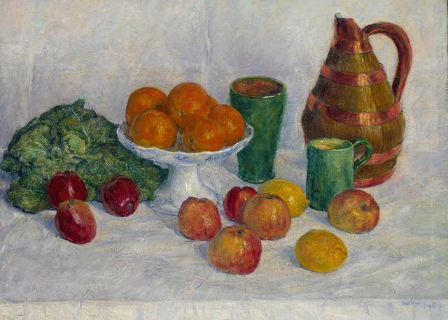 , 'Nature morte aux fruits et legumes,' 1868-1941, Waterhouse & Dodd