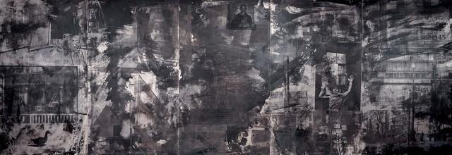 Robert Rauschenberg, 'Holiday Ruse (Night Shade)', 1991, Acrylic and tarnishes on aluminum, Robert Rauschenberg Foundation