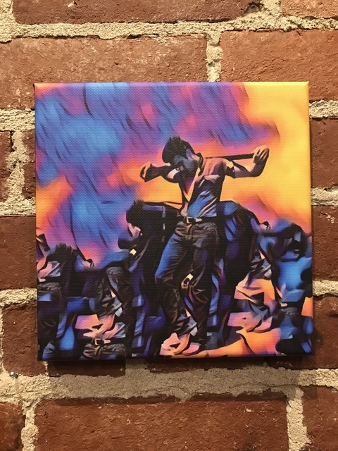 , 'Electric Blue James Dean (Small),' 2018, Mason-Nordgauer Fine Arts Gallery
