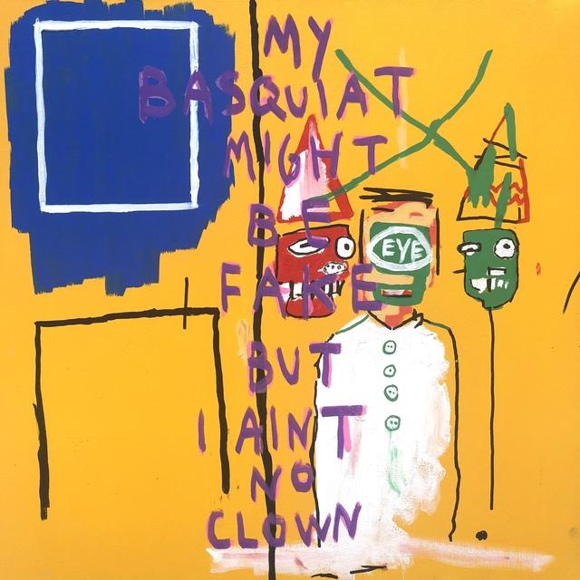 , 'Basquiat no Clown,' 2018, NextStreet Gallery