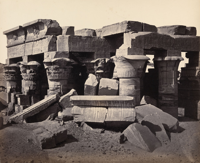 , 'Kom Ombo Temple, Egypt,' 1858, Robert Hershkowitz