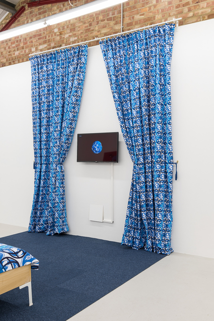 , 'Make yourself comfortable (curtains),' 2016, Annka Kultys Gallery