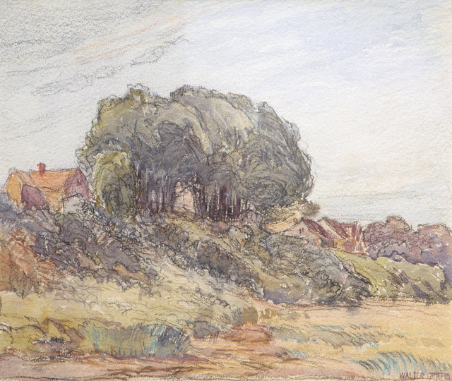 Walter Griffin, 'House on a Hill', 19th -20th Century, Vose Galleries