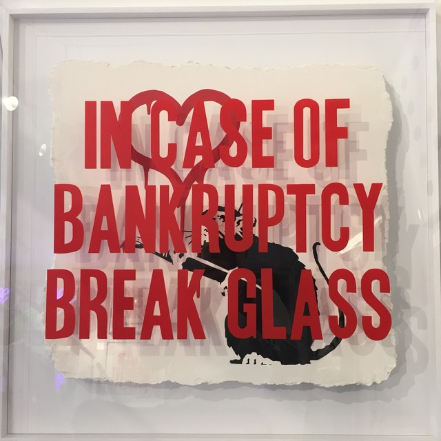 Thirsty Bstrd, 'In Case of Bankrupty: Love Rat ', 2018, Reem Gallery