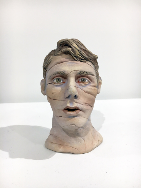 , 'Lined Face,' 2012, Duane Reed Gallery