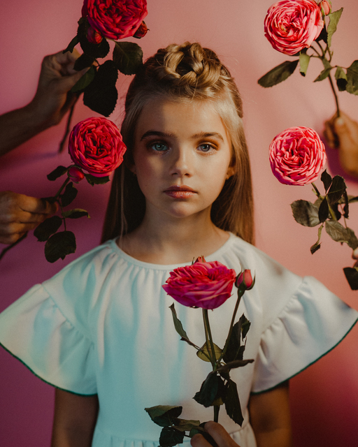 , 'Roses,' 2018, 9 Strokes Gallery