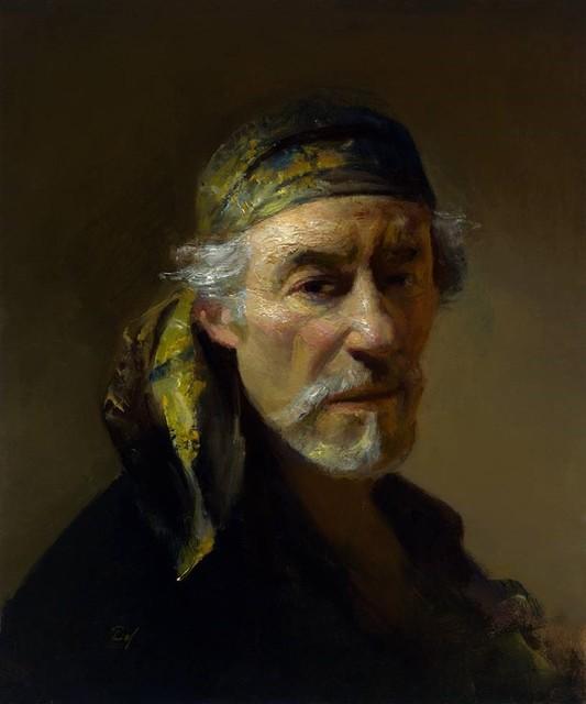 , 'Self Portrait with Bandana,' 2017, Gallery 1261