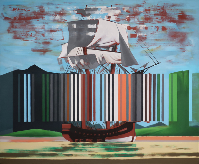 Darren Coffield, 'Bark Endeavour', 2019, Dellasposa