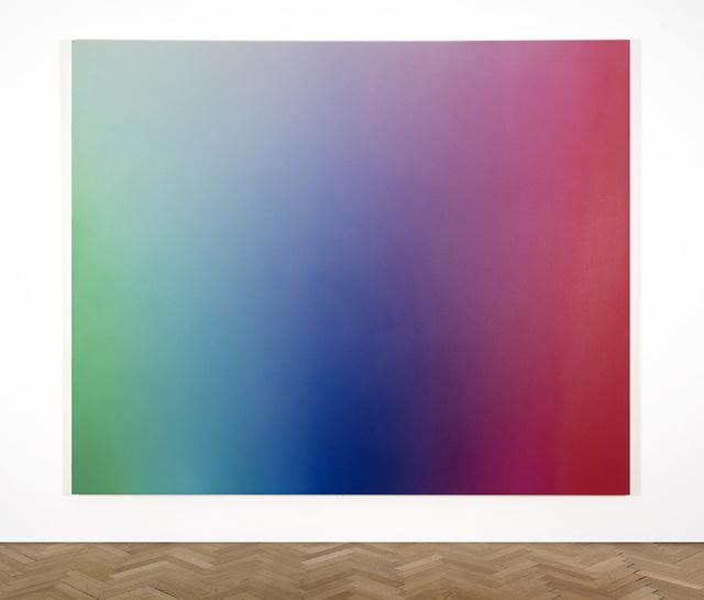 , 'Spectrum Fade (green, blue, violet, magenta, red) OMS 651, 2017,' 2017, Vigo Gallery