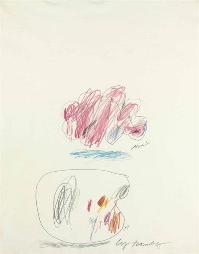 Cy Twombly, 'Untitled (Modella)', Christie's