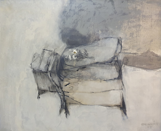 Pedro González, 'Margaritas', 1991, Galería Artizar