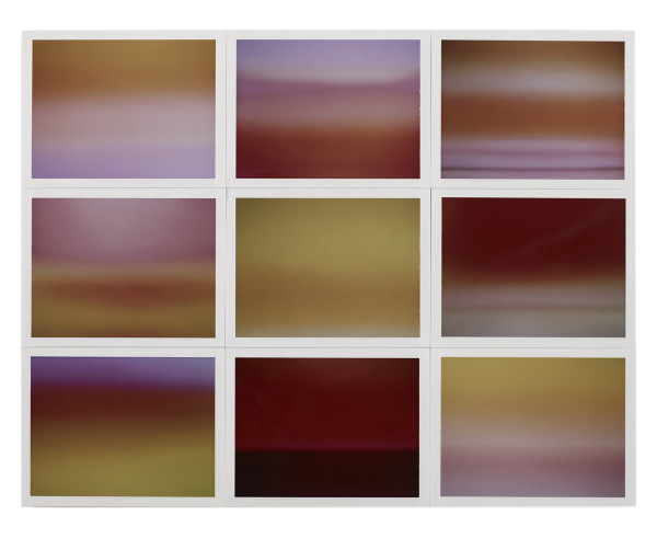 , 'Horizon, étude couleur #7,' 2015, Galerie Thierry Bigaignon