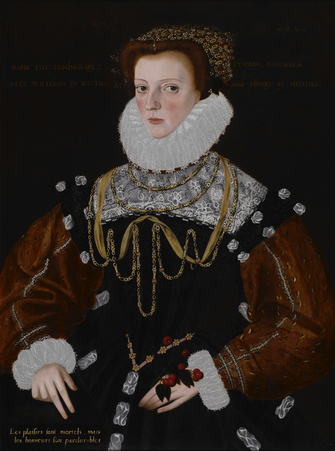 George Gower, 'Lady Philippa Coningsby', 1578, Indianapolis Museum of Art at Newfields
