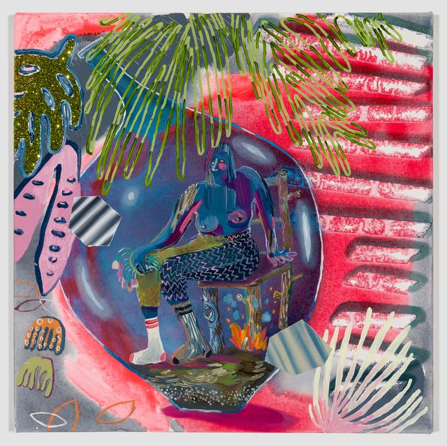 Melanie Daniel, 'Fire Under Chair', 2019, Asya Geisberg Gallery