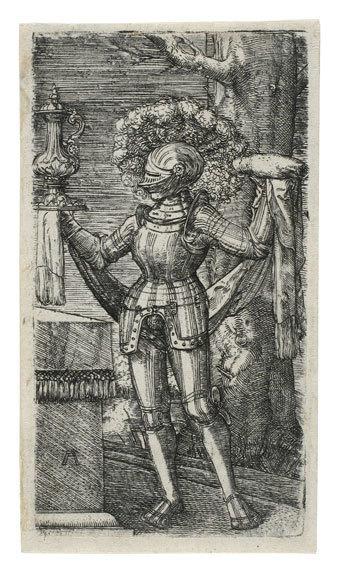 , 'Standing Knight ,' ca. 1512, Daniela Laube Fine Art