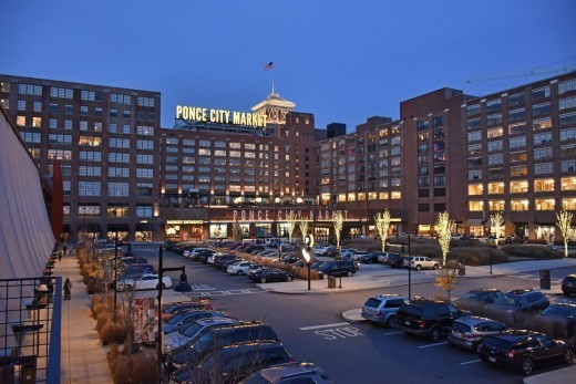 Ponce City Market from North Avenue. (Photo by David Hamilton.)