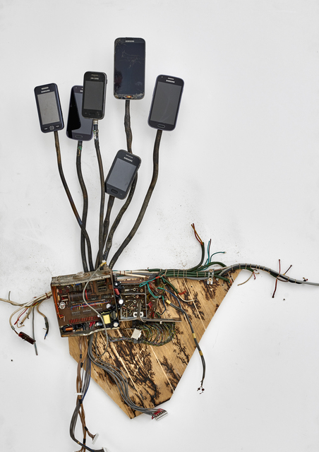 , 'Postnaturalia - Telefonica,' 2018, Galerie Ron Mandos
