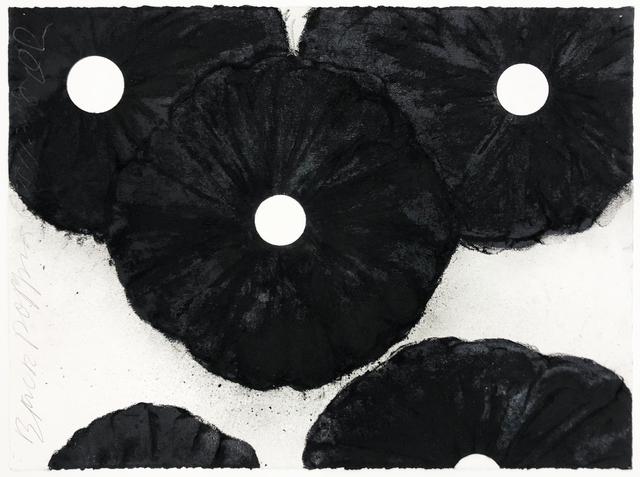 Donald Sultan, 'Black Poppies Oct 11 2018', 2018, Serge Sorokko Gallery