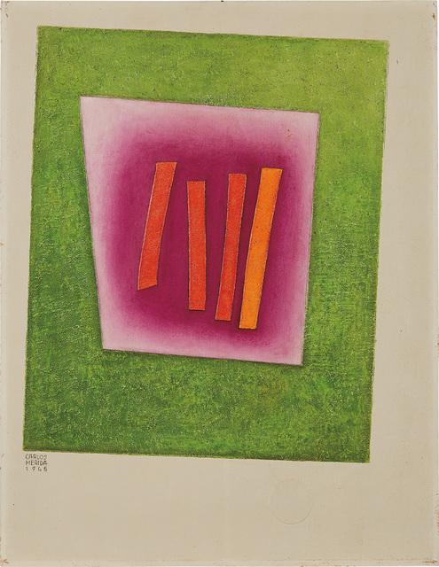 Carlos Merida, 'Los cuatro hitos', 1968, Phillips