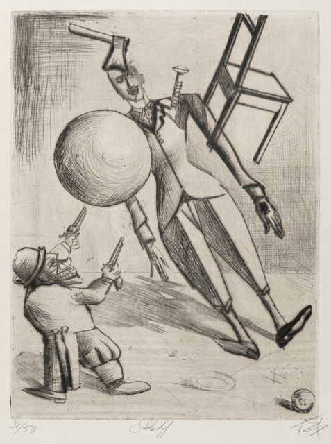 Otto Dix, 'Skit', 1922, Galerie St. Etienne