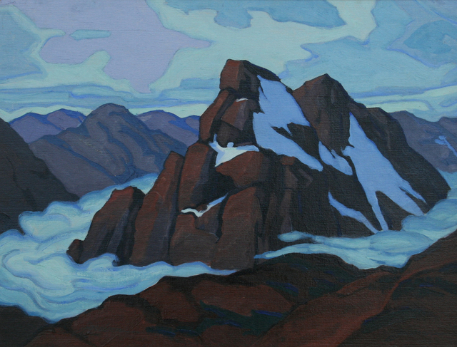 , 'Clouds in the Atlas,' 1916-1966, JRB Art at The Elms
