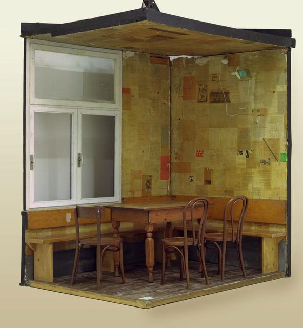 , 'Le coin du Restaurant Spoerri,' 1969, Triennale Design Museum