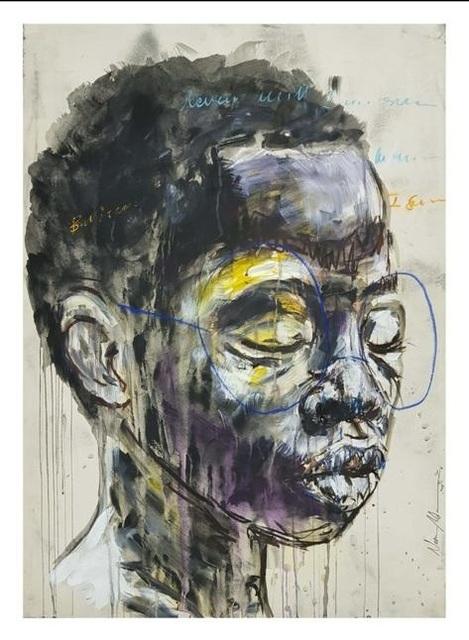 Nelson Makamo, '#Purple', 2018, Axis Art Gallery