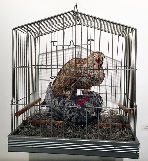 , 'Caged Bird of Prey,' 2016, Antieau Gallery